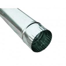 Труба ф130 мм, оцинк 0,4 мм, L-1,25 м