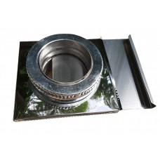 Шибер ф300/ф360 мм, нерж/нерж 0,8 мм