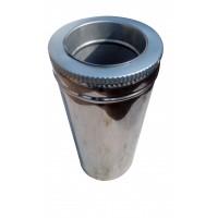 Труба ф300/ф360 мм, нерж/нерж, 1,0 мм, L-1 м.